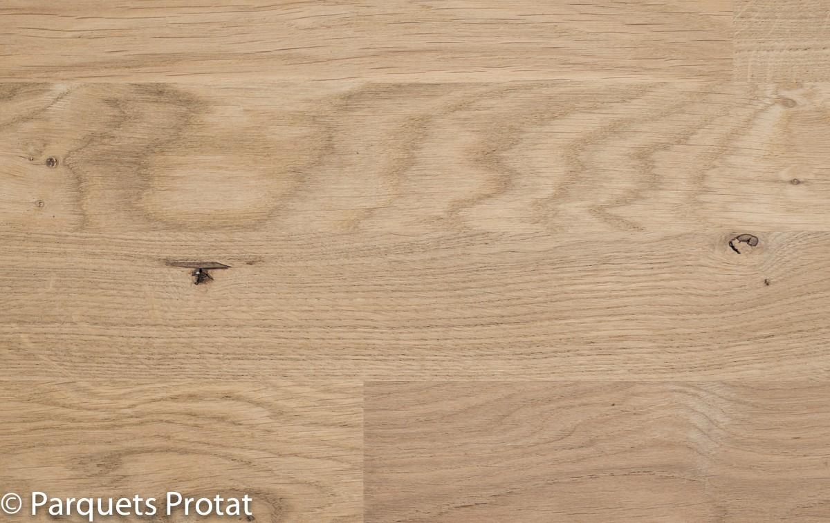 Parquet chene massif 14 mm rustique a coller - Renover parquet sans poncer ...