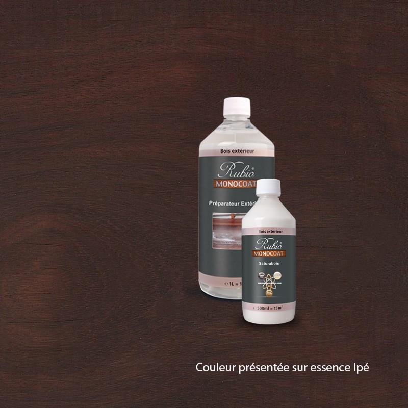 kit saturabois pour terrasses ip couleur chocolat. Black Bedroom Furniture Sets. Home Design Ideas