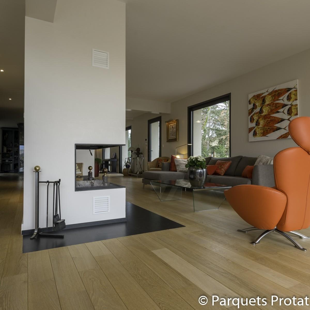 parquet ch ne semi massif coller rustique a ponc. Black Bedroom Furniture Sets. Home Design Ideas