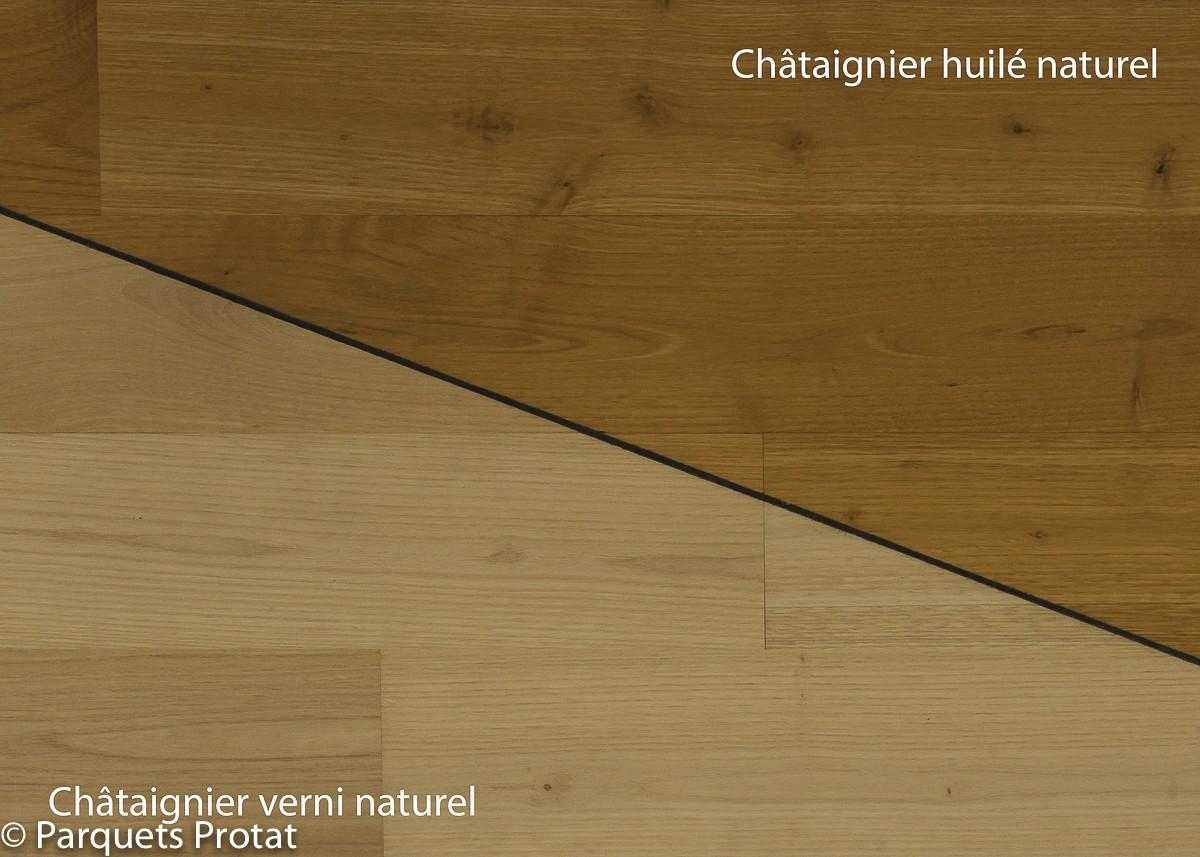 Parquet châtaignier 100 mm