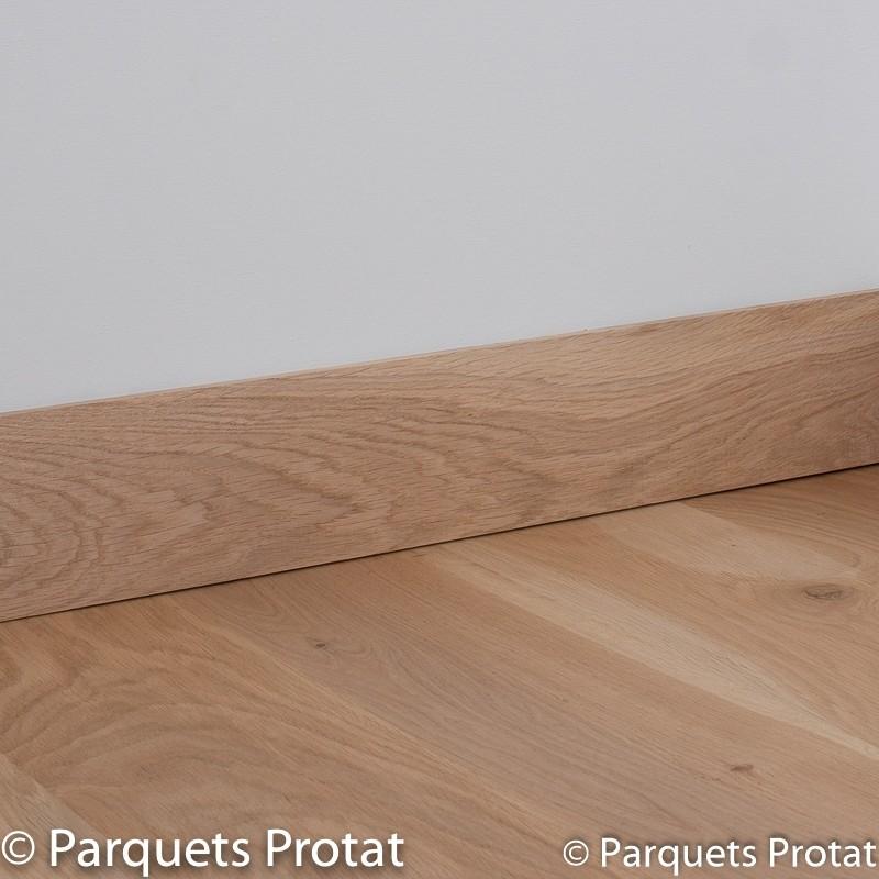 plinthe chene massif 13 x 100 mm deco bord droit plinthes en ch ne massif plinthes accessoires. Black Bedroom Furniture Sets. Home Design Ideas