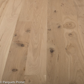 PARQUET CHENE MASSIF 14 x 130 mm SANS CHANFREIN COTTAGE