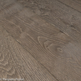 PARQUET CHENE 12 X 185 mm , CHOIX BOHEME, VIEILLI GRIS SOURIS