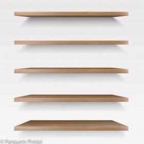 Panneau chêne massif toutes dimensions pour tablettes