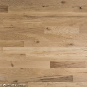 PARQUET CHENE MASSIF 14 x 60 mm SANS CHANFREIN DECO BRUT CP / JR