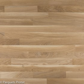 PARQUET CHENE MASSIF 23 x 70 mm SANS CHANFREIN NATURE - FCBA BRUT CP / JR