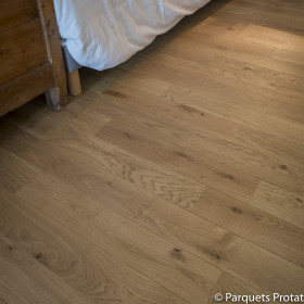 PARQUET CHENE MASSIF 14 x 90 mm SANS CHANFREIN BOHEME
