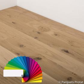 PARQUET CHENE MASSIF 20 x 150 mm, HUILÉ CHOIX COTTAGE