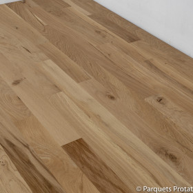 PARQUET CHENE MASSIF 14 x 110 mm SANS CHANFREIN CHALET