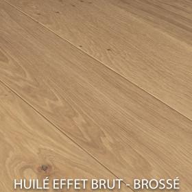 PARQUET CHENE MASSIF EPAISSEUR 20 mm BROSSÉ HUILÉ