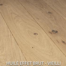 PARQUET CHENE MASSIF EPAISSEUR 14 mm, VIEILLI HUILÉ CHOIX CHALET
