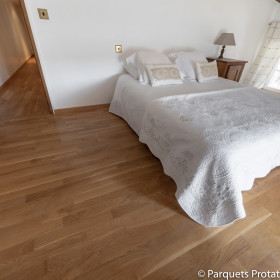 PARQUET CHENE MASSIF 14 x 90 mm SANS CHANFREIN ORIGINE