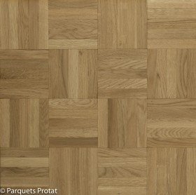 PARQUET MOSAIQUE CHENE 8 mm NATURE DAMIER