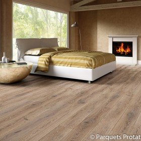 PARQUET FLOTTANT CHENE 14x182x2200mm INTEMPOREL RABOTE MAIN INSPIRATION