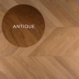 PARQUET CONTRECOLLE 11x120mm POINT DE HONGRIE AUTHENTIQUE, HUILE ANTIQUE