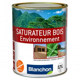 SATURATEUR BOIS ENVIRONNEMENT EN 0.75 LITRE GRIS ANTHRACITE