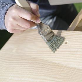 Panneau frêne blanc massif pour plans de travail et panneaux de meubles
