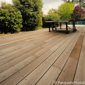 LAME TERRASSE FRENE THERMO CHAUFFEE 21 x 140 mm