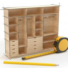 Panneau Châtaignier massif pour plans de travail et panneaux de meubles