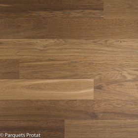 PARQUET CHENE MASSIF 14 x 130 mm  SANS CHANFREIN ROUGE