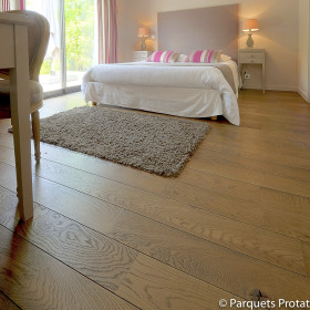 PARQUET CHENE MASSIF 14 x 130 mm SANS CHANFREIN CHALET