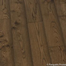 PARQUET CHENE MASSIF 20 x 150 mm CHOIX COTTAGE, HUILÉ BLACK