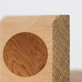 PLINTHE CHENE MASSIF 13 x 70 mm NATURE BORD CHANFREINÉ HUILÉ VIEUX CHÊNE