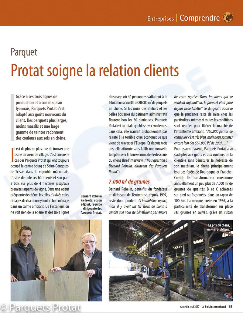Article de presse Protat page 1