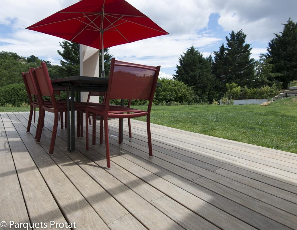 Terrasse bois parquets Protat