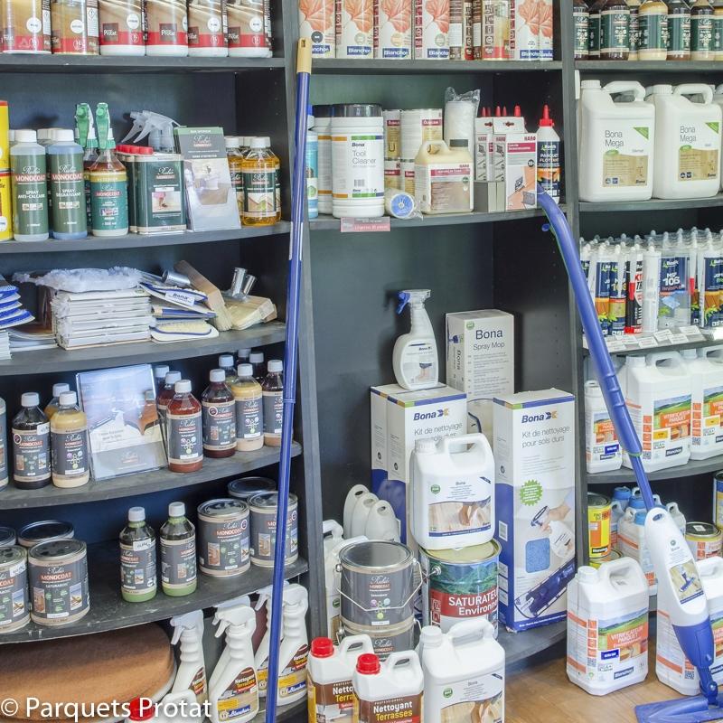 Produits de nettoyage pour parquets et terrasses