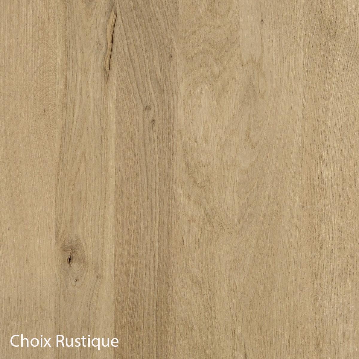 Panneau chêne massif choix Rustique