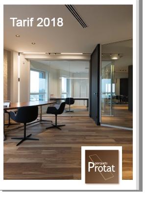 visuel catalogue en ligne 2018 Parquets Protat